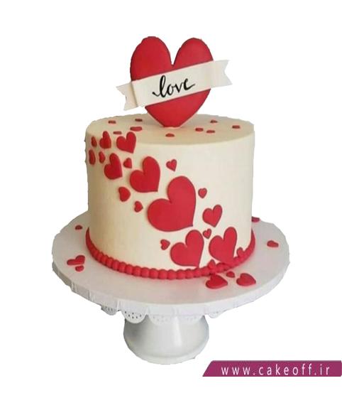 کیک ولنتاین و روز مادر