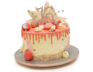 کیک های چکه ای خوشمزه ای که با دیدنشون آب از دهنتون چکه می کنه!