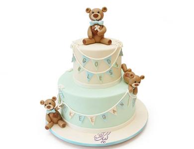 کیک تدی خرسه!