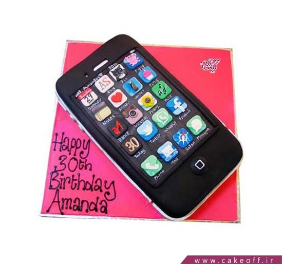 خرید جدیدترین کیک تولد - کیک موبایل 1 | کیک آف