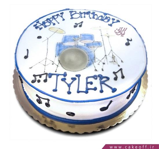 خرید اینترنتی کیک - کیک تولد ساز خوش | کیک آف