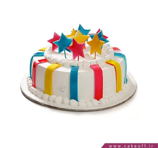 کیک جشن ستاره ها