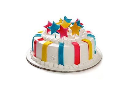 سفارش کیک فوندانت در اصفهان - کیک جشن ستاره ها | کیک آف