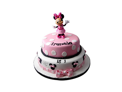 سفارش کیک تولد در اصفهان - کیک تولد مینی موس دنسر | کیک آف