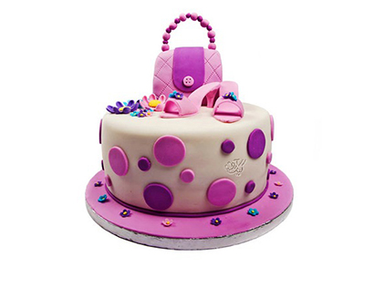 سفارش کیک تولد - کیک دخترانه مزون | کیک آف