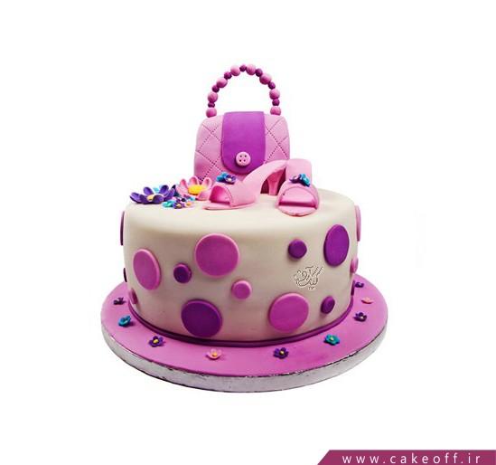 کیک دخترانه مزون