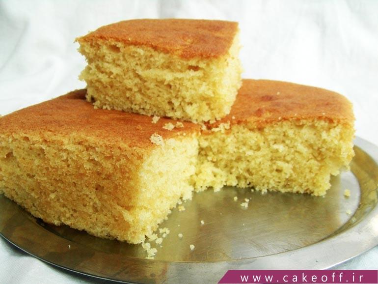 کیفیت کیک اسفنجی