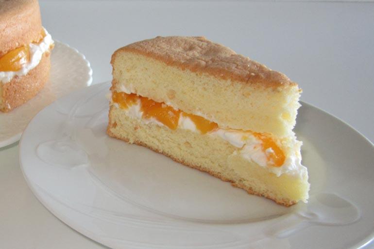 رطوبت کیک اسفنجی