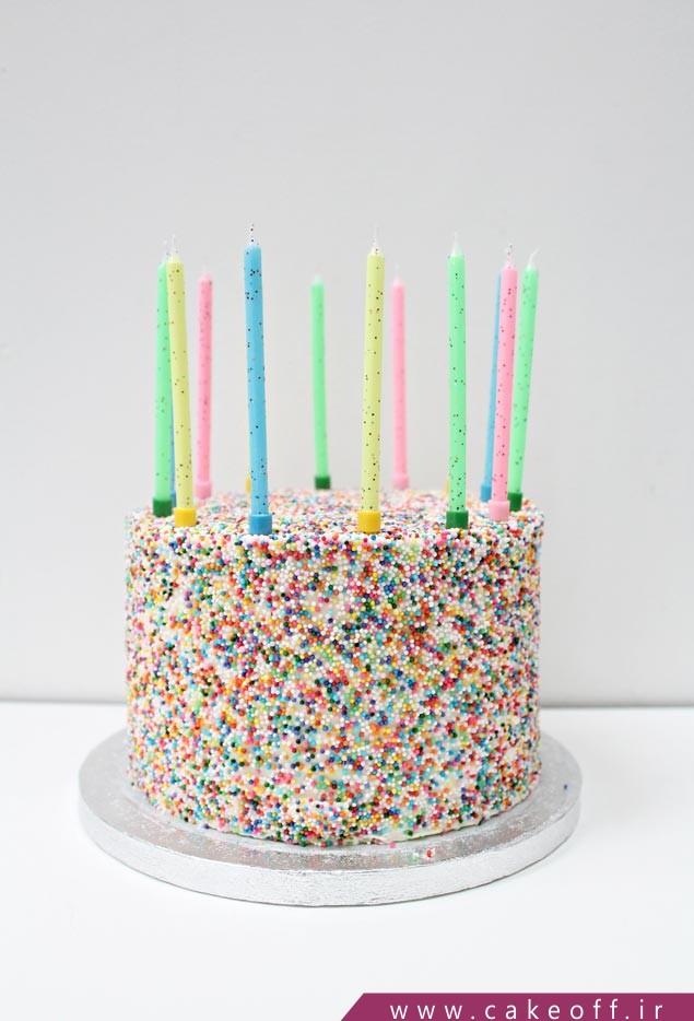 کیک تولد نوجوان\n
