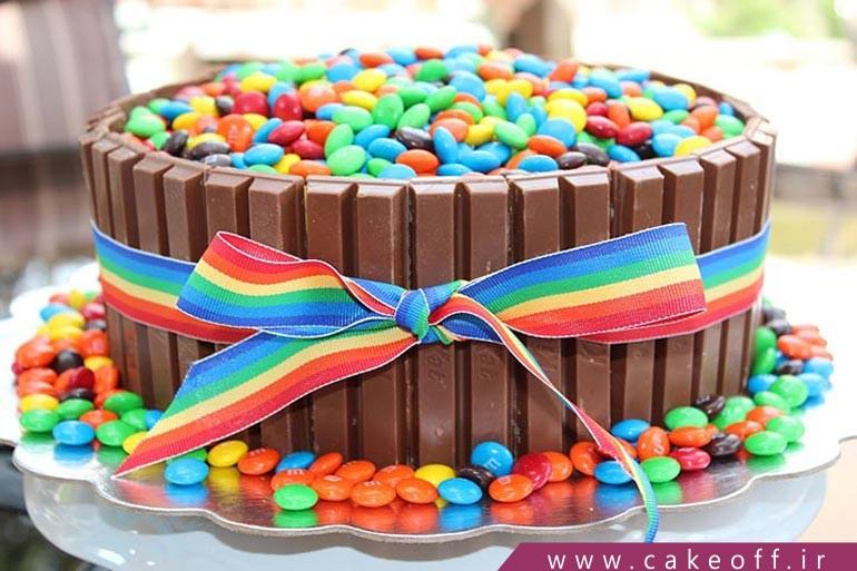 \nکیک تولد شکلاتی