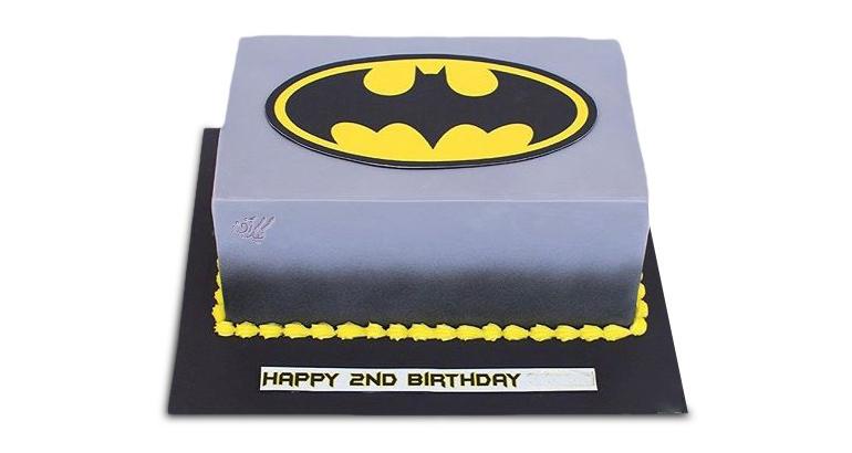 کیک بتمن