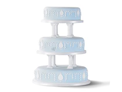 انواع کیک عروسی - کیک عروسی نرمین | کیک آف