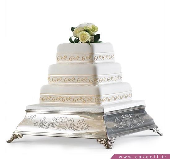 سفارش کیک عروسی در اصفهان - کیک عقد و عروسی ساینا | کیک آف