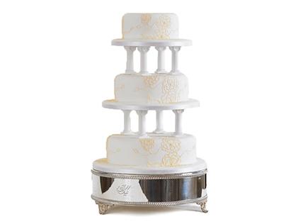 کیک عقد و عروسی - کیک عروسی نوگل | کیک آف