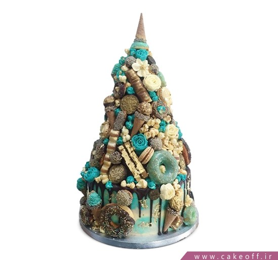 سفارش کیک خاص - کیک عقد و عروسی ناژین | کیک آف