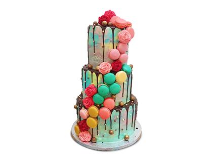 کیک عروسی - کیک عروسی نازآفرین | کیک آف
