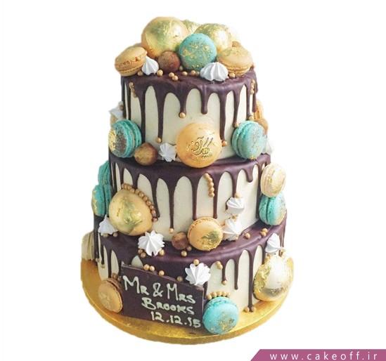 سفارش کیک عروسی - کیک عروسی نازنین   کیک آف