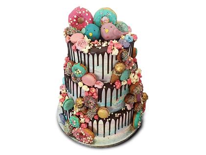 جدیدترین کیک های عروسی - کیک عروسی دلشاد | کیک آف