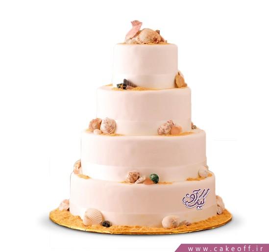انواع مدل های کیک عروسی - کیک عروس دریا | کیک آف