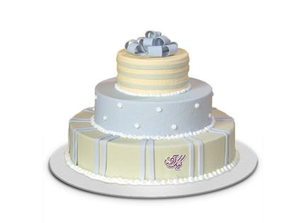 بهترین کیک های عروسی در اصفهان - کیک عروسی گل نوش | کیک آف
