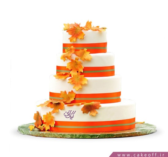 سفارش کیک های عروسی - کیک عقد و عروسی گوهر شاد | کیک آف