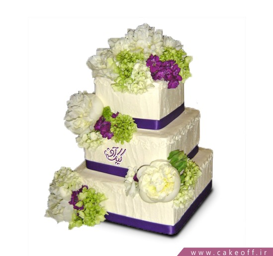 خرید کیک های عروسی  - کیک گوهرناز | کیک آف