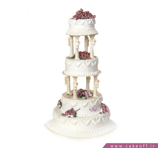 سفارش آنلاین کیک عروسی - کیک گلشن | کیک آف