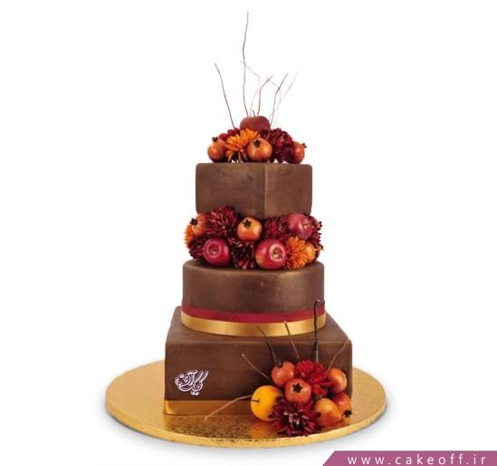 خرید اینترنتی کیک عروسی - کیک عروسی سودا | کیک آف