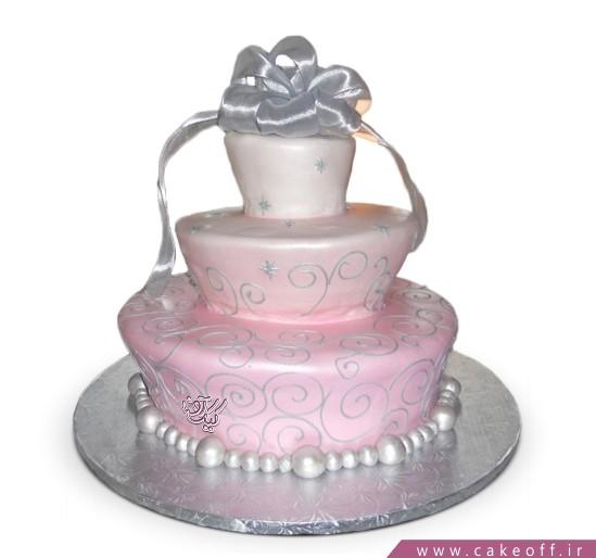 سفارش کیک عروسی - کیک نامزدی شیدا | کیک آف
