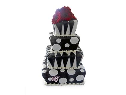 سفارش کیک عقد و عروسی - کیک عروسی شاهلار | کیک آف