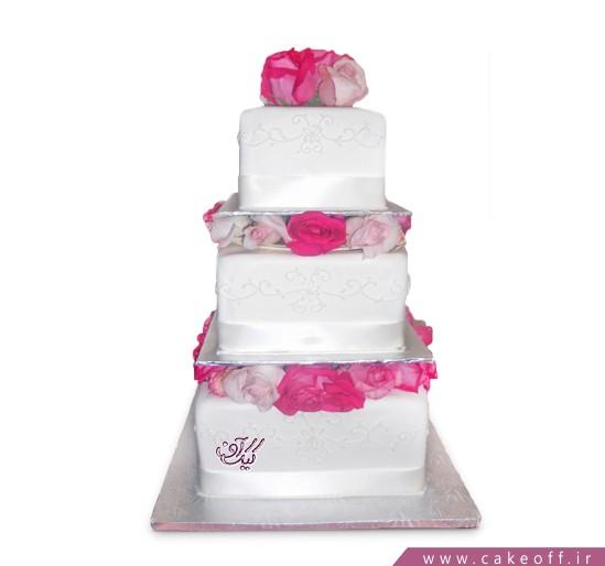 سفارش کیک عروسی - کیک سالگرد ازدواج گل بهار | کیک آف