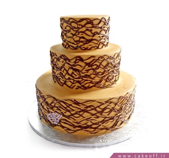 سفارش کیک سالگرد ازدواج - کیک سالگرد ازدواج حنانه | کیک آف