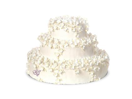 سفارش کیک عروسی - کیک عقد و عروسی تکیار | کیک آف
