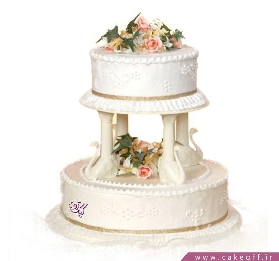کیک عقد و عروسی - کیک عروسی یانار | کیک آف