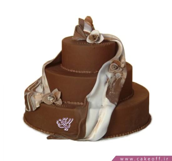 سفارش کیک عقد و عروسی - کیک نامزدی سایان  | کیک آف
