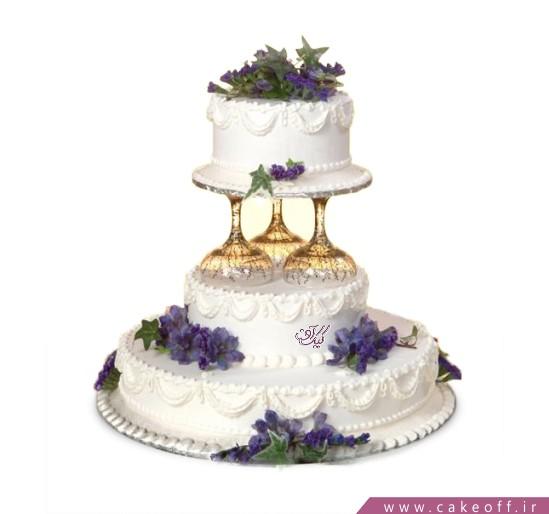 سفارش کیک عروسی - کیک عقد و عروسی تابان | کیک آف