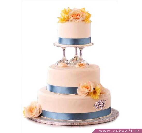 سفارش کیک عروسی - کیک عروسی آراز | کیک آف