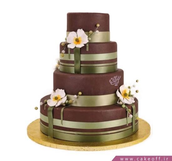 خرید کیک - کیک عقد و عروسی صحرا | کیک آف