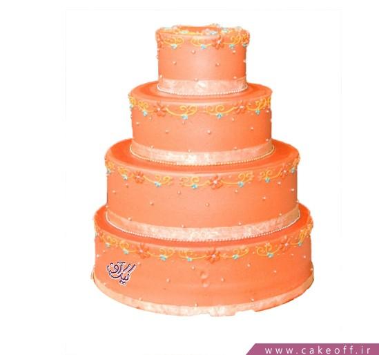 سفارش کیک عقد و عروسی - کیک عروسی کیک تووشیار  | کیک آف