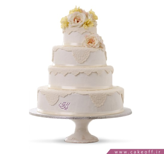 سفارش کیک عروسی - کیک نامزدی ترگل | کیک آف