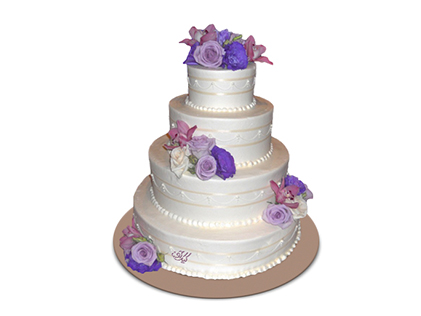 سفارش کیک عروسی - کیک عروسی رسا | کیک آف
