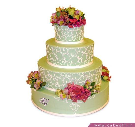 سفارش کیک نامزدی در اصفهان - کیک نامزدی آوین | کیک آف