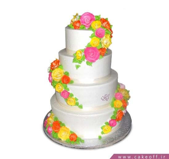 سفارش کیک نامزدی - کیک آوا | کیک آف