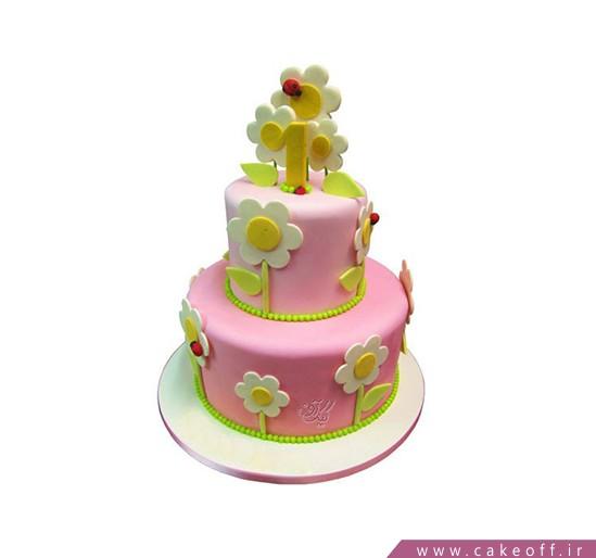 کیک قصه گل ها