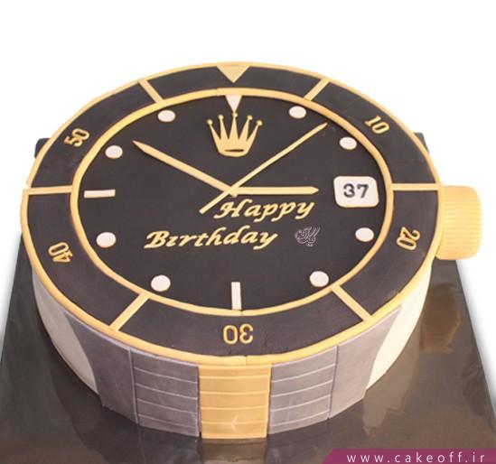 سفارش کیک تولد - کیک تولد مردانه لحظه ی اول | کیک آف