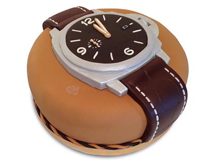خرید کیک تولد - کیک تولد مردانه پانرای | کیک آف