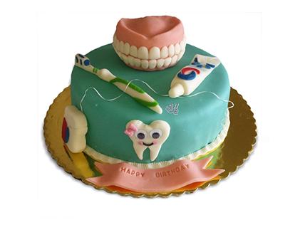 کیک دندان پزشک  - کیک دندان سالم | کیک آف