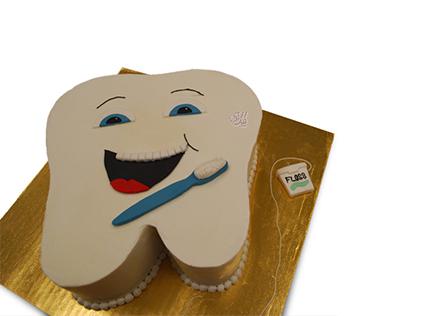 خرید کیک جشن دندونی - کیک دندونی دندان اول |کیک آف