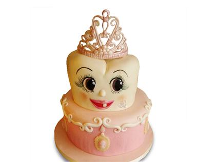 کیک جشن دندونی - کیک دندونی دندان ملکه | کیک آف