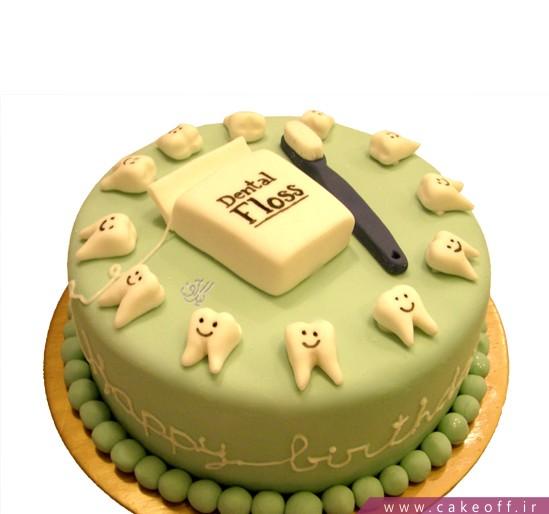 کیک جشن دندونی دندان شیری